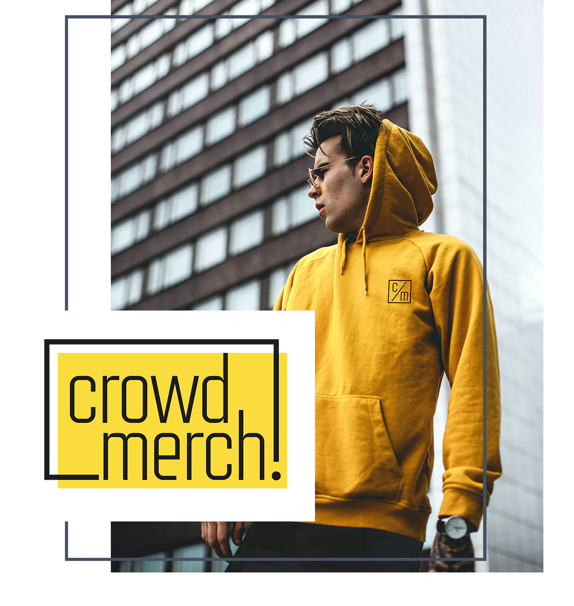 crowdmerch gruppen merchandise t-shirts pullis sweater nachhaltiger merchandise